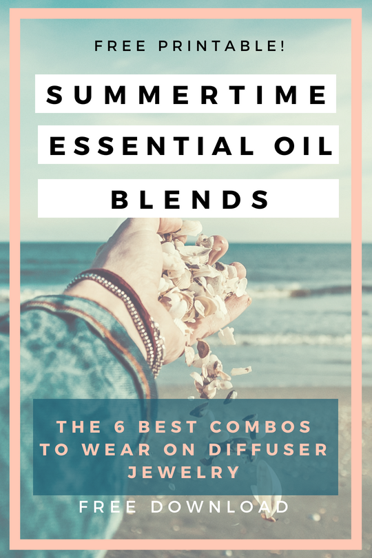 photo relating to Printable Essential Oil Guide called Most loved Summer months Necessary Oil Blends for Diffuser